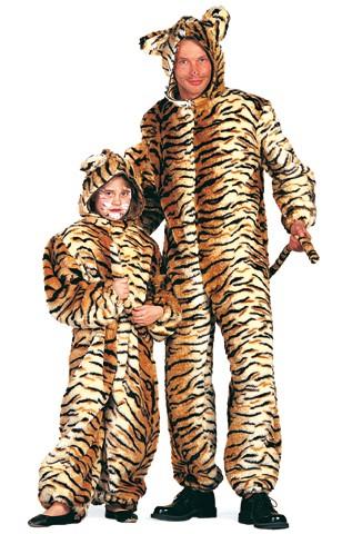 Kostüm Plüsch-Tiger Kinder