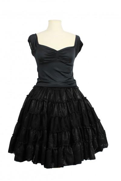 metallic petticoat