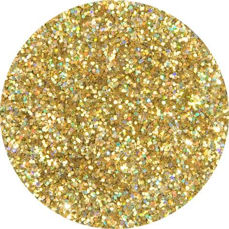 Holo-Glitzer gold-juwel