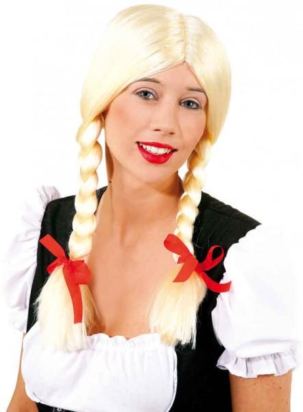 Perücke Gretchen blond