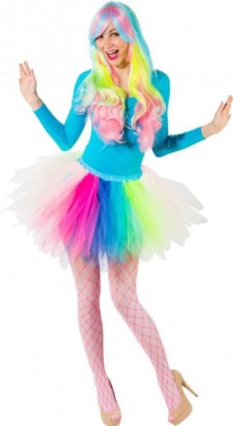 Tutu, Petticoat Neon bunt