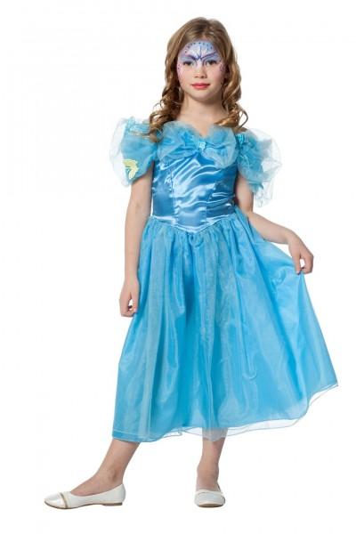 Kostüm Prinzessin blau Kind