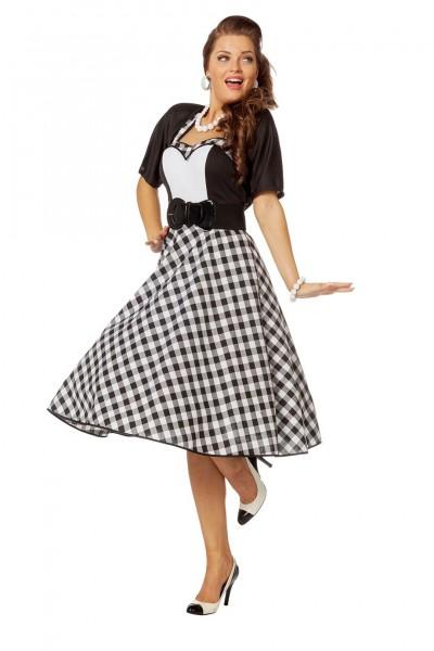 Kostüm Rock´n Roll Kleid