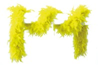 Federboa neon-gelb 180 cm