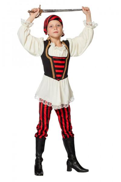 Kostüm Piratenmädchen Kind
