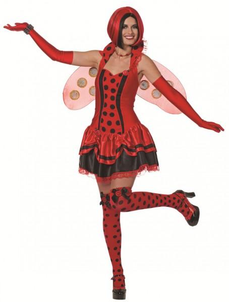 Kostüm Marienkäfer Kleid