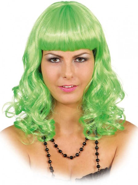 Perücke Katy grün