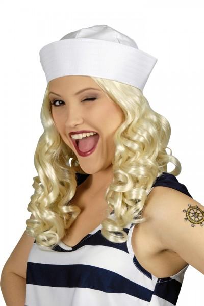 Matrosen-Mütze weiß