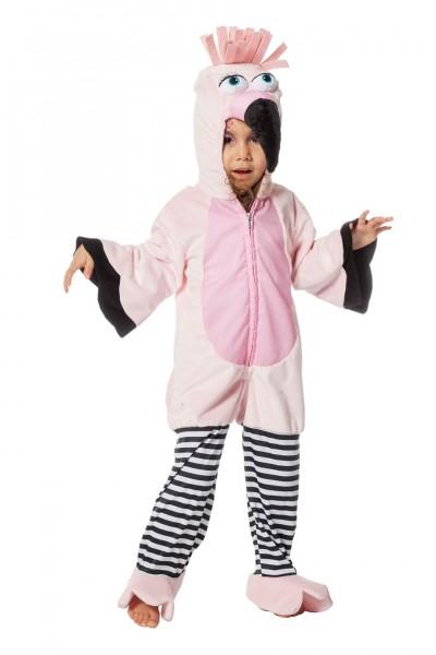 Kostüm Flamingo Overall Kind