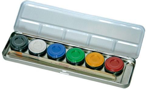 Farbenset 6 Farben