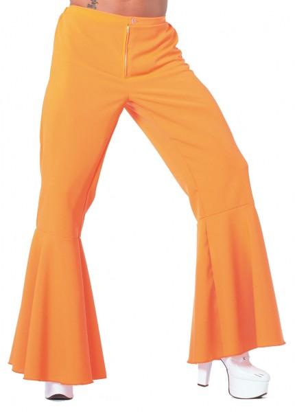 Schlaghose Herren orange