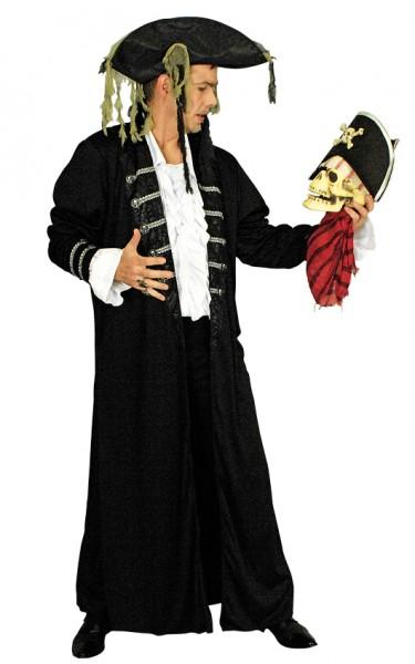 Piratenmantel Schwarz