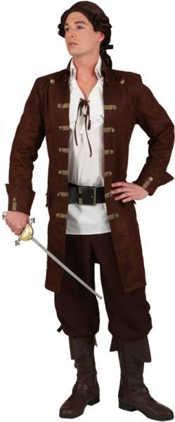 Piratenmantel braun