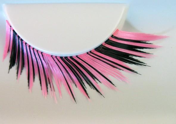 Wimpern crazy pink