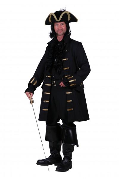 Herren Piraten Mantel de Luxe