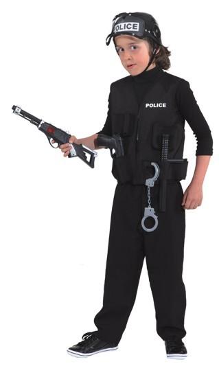 Kostüm Police Weste