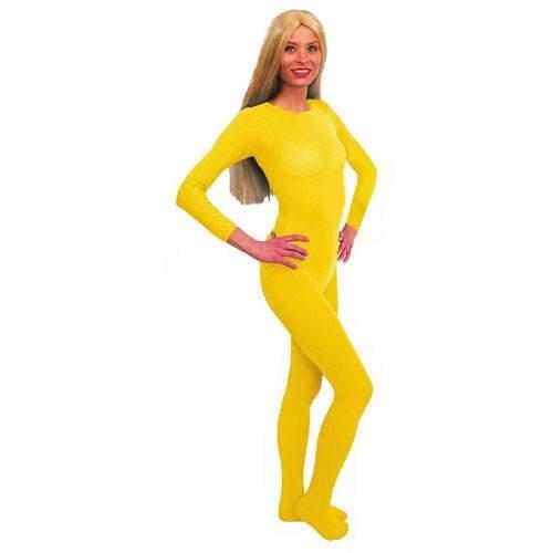 Damenbody gelb