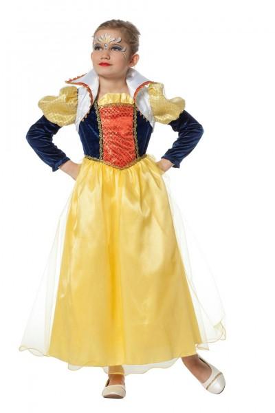 Kostüm Märchenprinzessin lang Kind
