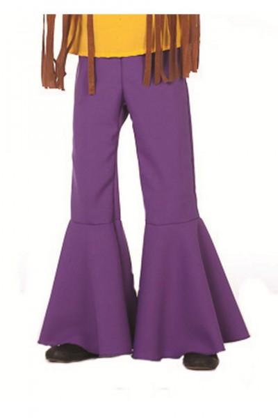 Hippie-Hose violett