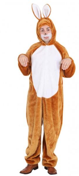 Plüsch Kostüm Hase braun