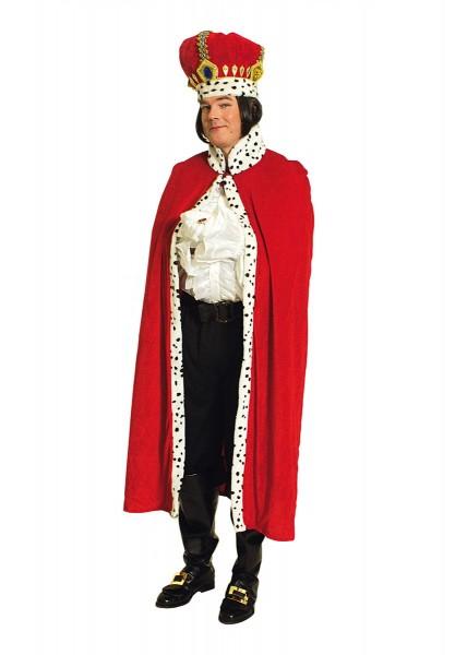 Kostüm Königs Mantel