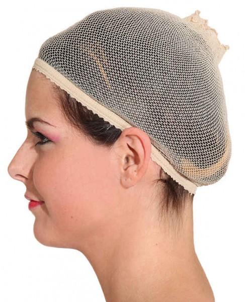 Perücken-Haarnetz beige