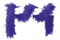 Federboa blau 180 cm