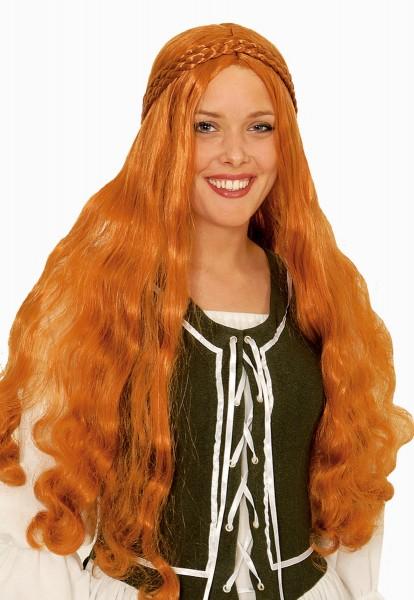 Perücke Edelfrau irisch-rot
