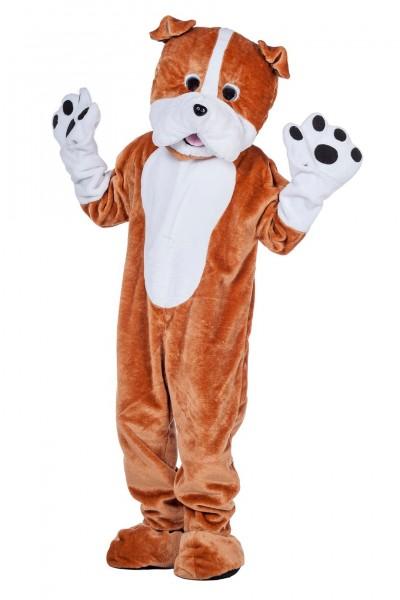 Kostüm Maskottchen Bulldogge