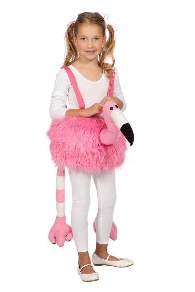 Flamingo Kinderkostüm, plüsch