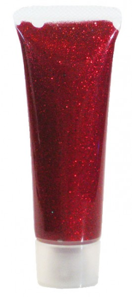 Glitzer-Gel Rot-Juwel 18ml