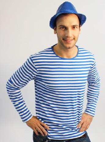 Ringelshirt blau weiß