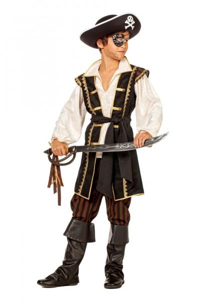 Piratenkostüm Kinder braun