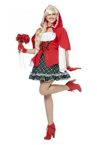 Kostüm Luxus Rotkäppchen