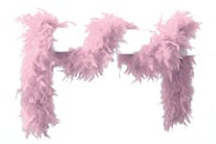 Federboa rosa 180 cm