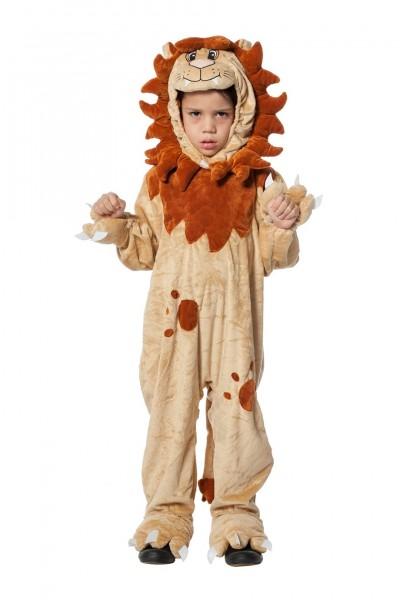Kostüm Löwen Overall Kind