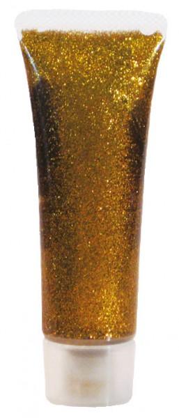 Glitzer-Gel Classic Gold 18ml