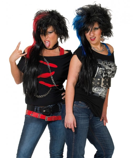 Perücke Punk Lady