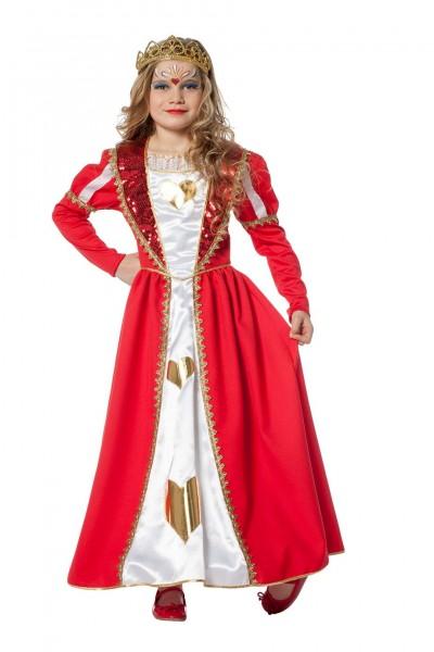 Kostüm Königin Herz Kind