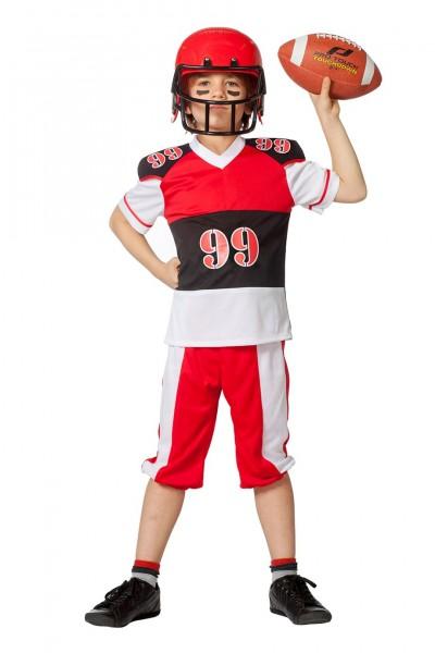 Kostüm American Football Kind