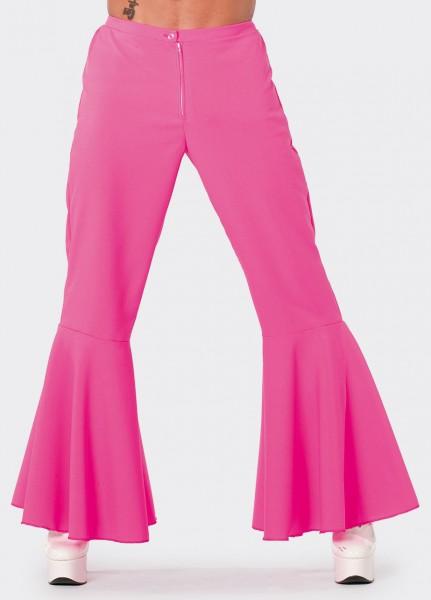 Schlaghose Herren pink