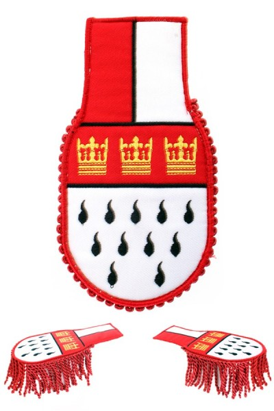 Epauletten Köln Wappen