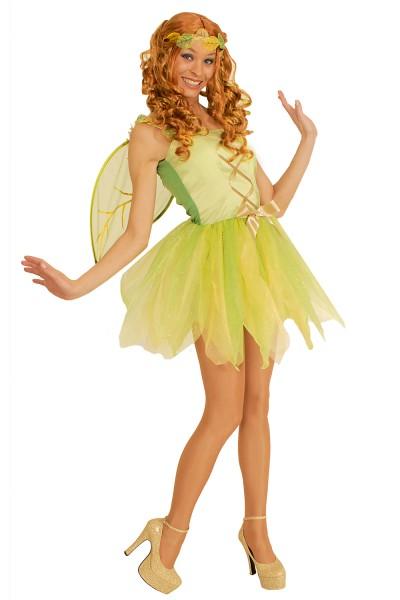 Kostüm grüne Elfe