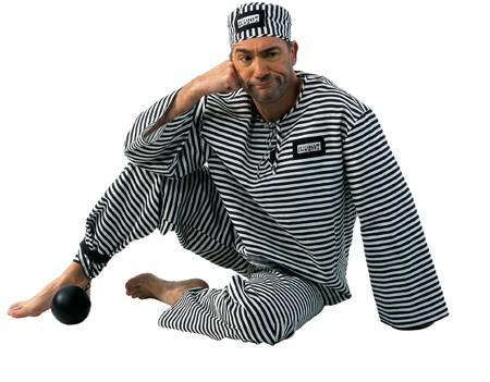 Kostüm Sträfling