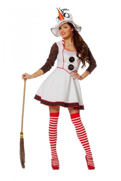 Kostüm Schneemann Dame