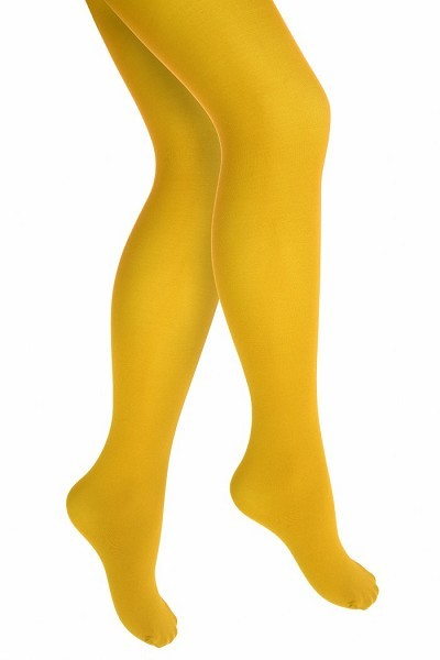 Kinderstrumpfhose gelb