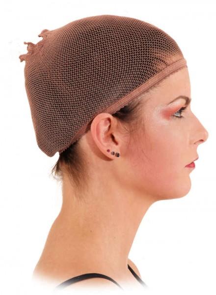 Perücken-Haarnetz braun