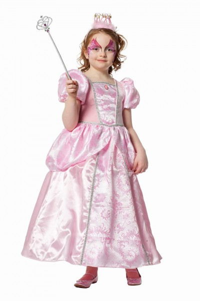 Kostüm Prinzessin rosa Kind