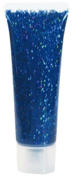 Glitzer-Gel Blau-Juwel 18ml