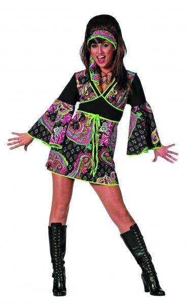 Kostüm Hippie-Kleid Sunny
